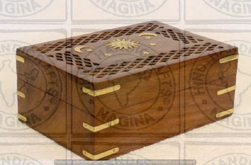 HHC93 Rosewood Jewelry Box