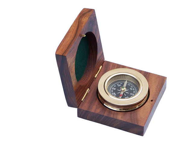 HHWC-NDC-85 Antique Compass
