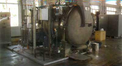 Horizontal Single Vessel Yarn Dyeing Machine