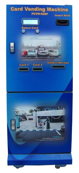 Phone Card Vending Machine