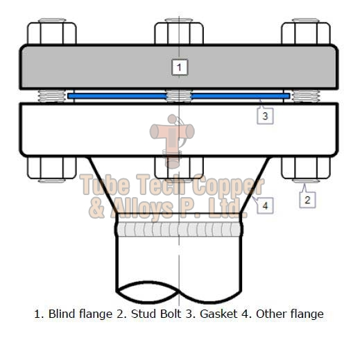 Cupro Nickel Blind Flanges