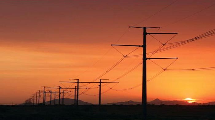 Electric Transmission Poles