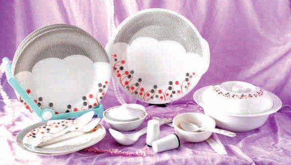 Melamine Dinner Set 37 Pcs