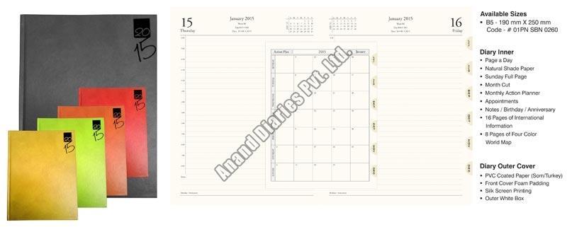 Imported Binding Diary (01PN SBN 0260)