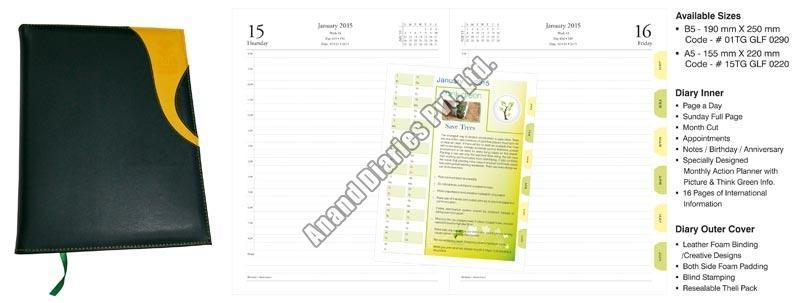 Soft Bind Diary (01-15TG GLF-0290-0220)