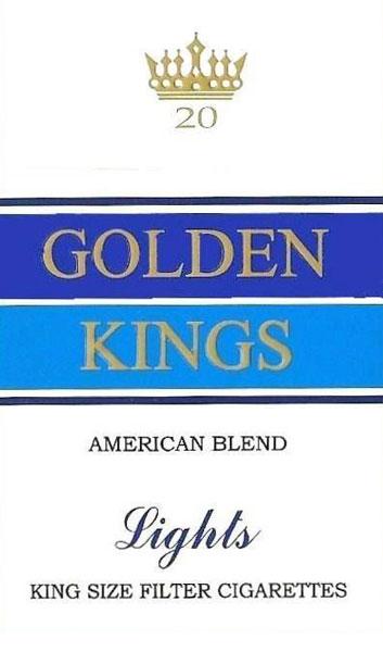 Golden Kings American Blend Cigarette