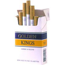 Golden Kings Full Flavour Virginia Cigarette