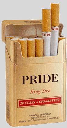 Pride Gold Cigarette
