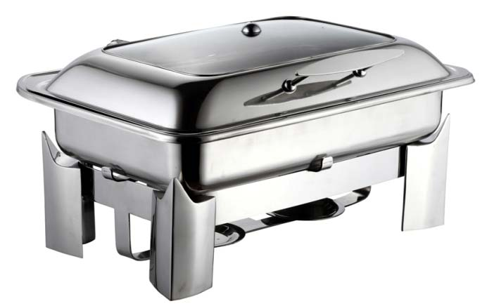 Stainless Steel Fuel Stand Chafing Dishes