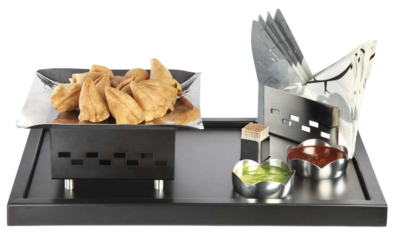 Stainless Steel Snack Warmer Set