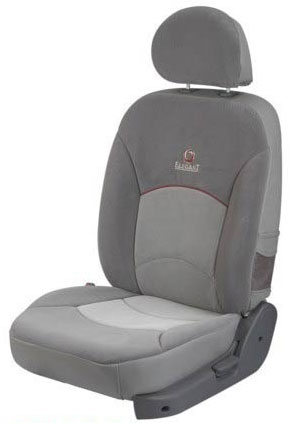 Europa Dotted Grey Car Seat Cover