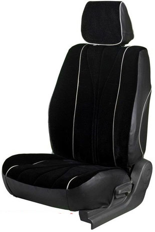 Europa Rider Black Car Seat Cover