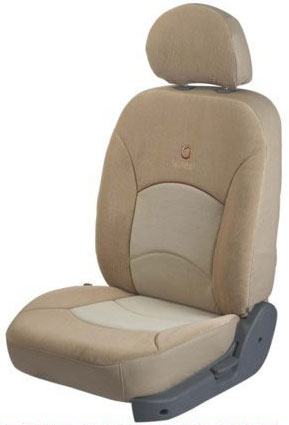 Europa Snake Beige Car Seat Cover