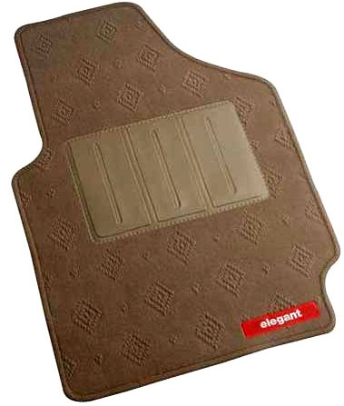 Jewel Beige Car Mat