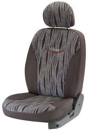 Mars Waves Grey Car Seat Cover