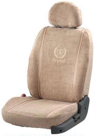 Towel Super Soft Beige Car Seat Cover