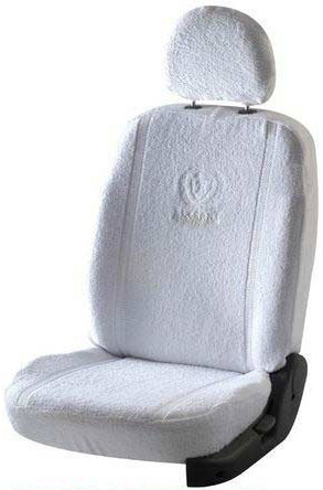 Towel Super Soft White Car Seat Cover