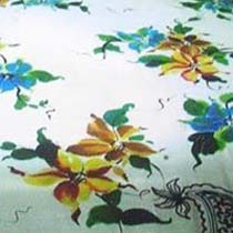 Hand Painting On Bed Sheets