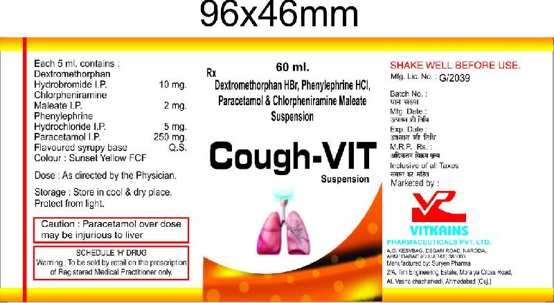 Cough VIT Suspension