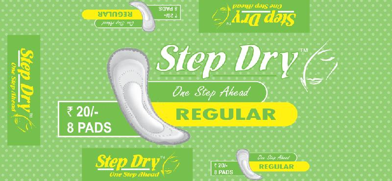 Step Dry Regular Without Wings Sanitary Pads
