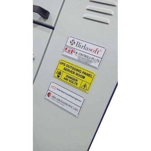 UPS Input Output Panel