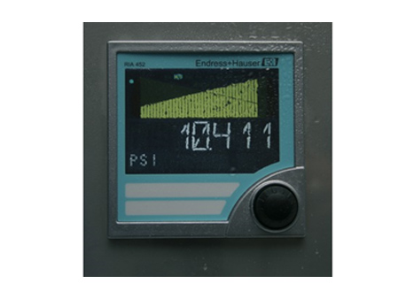 Process Indicator with Pump Control