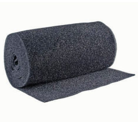 Peeled Foam Roll