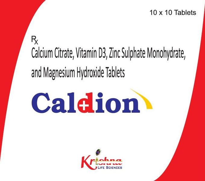Caldion Tablets