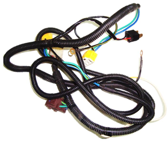 WIRING HARNESS OF HEAD LIGHT WITH RELAY & FUSE