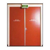 Fire Retardant Door Installation