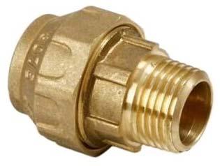 Brass Male Insert  (NRC064)