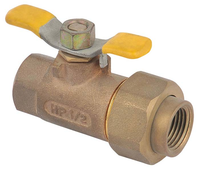 Butterfly Handle Bronze Ball Valve