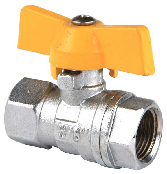 Butterfly Handle Brass Ball Valve (NRCI003)