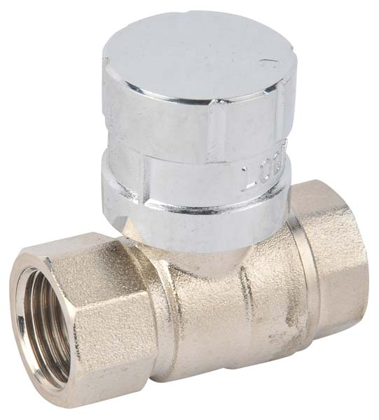 Lockable Brass Ball Valve (NR010)