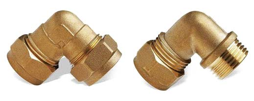 Brass Elbow (NRCI070)