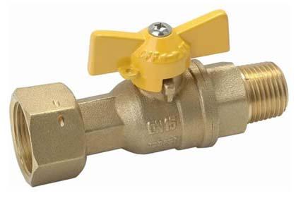 Lockable Brass Ball Valve (NRC013)