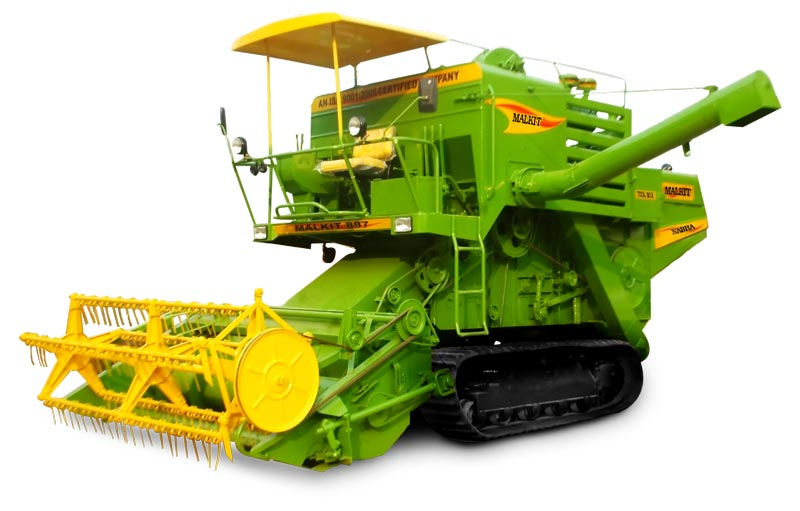 Track Mounted Combined Harvester (Malkit 597)