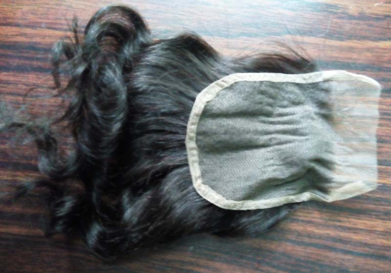 Natural Closure Human Hair