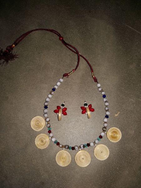 Bamboo Necklace Set 02