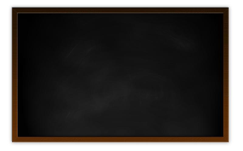 Black Writing Board