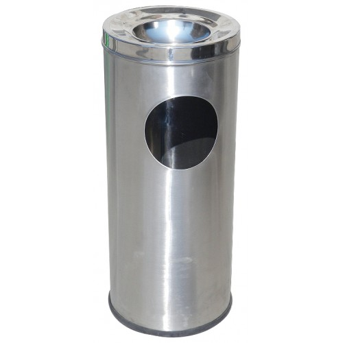 Stainless Steel Ash Can Bin