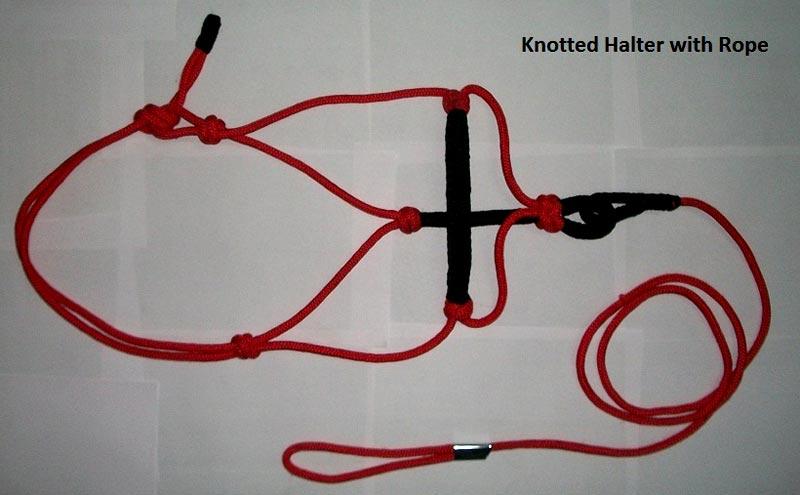 Horse Rope Halter - NSM-RHL-001