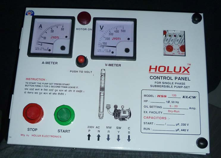 Single Phase Control Panel Hss Elcw Ch Sor4 Suppliers