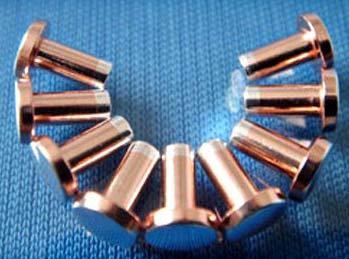 Trimetal Electrical Contact Rivets