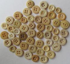 Ox Bone Buttons
