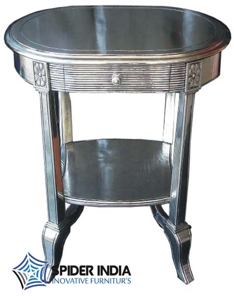 Silver Inlay Table