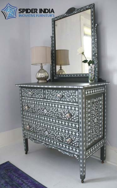 provincial s loading in bone ebay dresser supreme inlay grey is image itm drawer