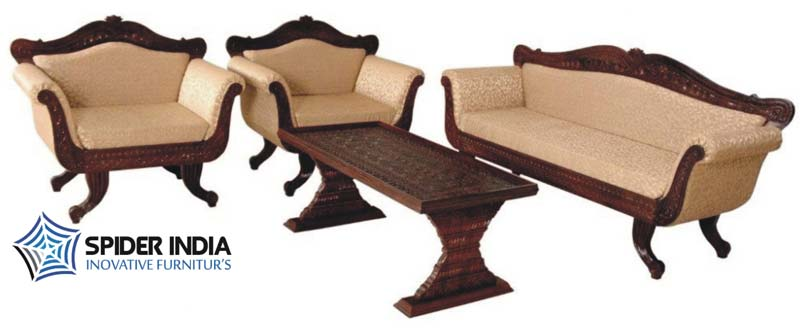 ... Fair Amount Of Time Now And Are One Of The Noticeable Companies. We Are  Known For The Quality Product That We Manufacture. The Teak Wood Carved  Sofa Set ...