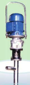 Motorised Screw Barrel Pump for High Viscous Liquids