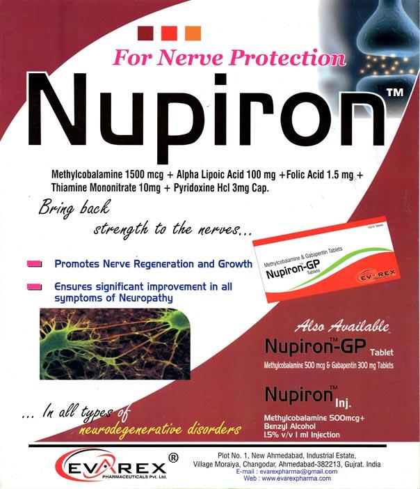 Nupiron Tablets